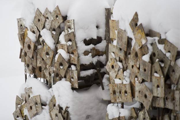 Das Baugewerbe verliert in den Wintermonaten an Stellen.