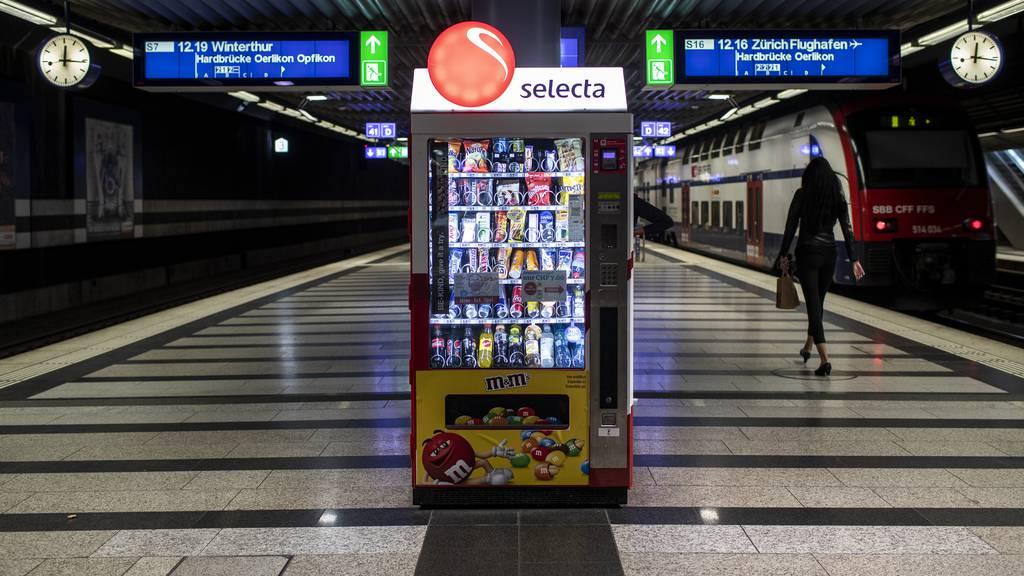 Seit den neusten Massnahmen gibt's einen Run auf Selecta Automat in Luzern