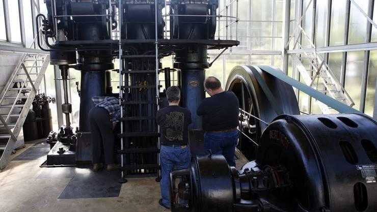 Im Kraftwerk am Emmenkanal in Luterbach ist die Solothurner Industrialisierung zu entdecken.