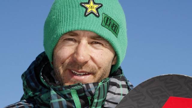 Gian Simmen hat jetzt 3 Söhne - fast eine Snowboard-Klasse (Archiv)