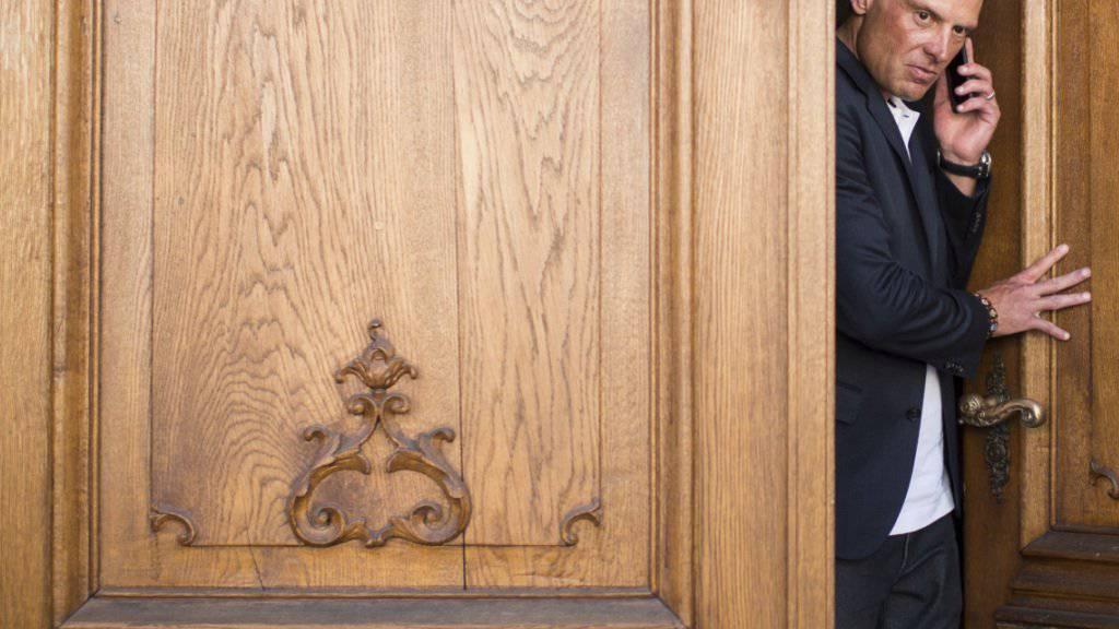 Der frühere Radprofi Jan Ullrich im Jahr 2015 beim ersten Prozess in Weinfelden TG. (Archivbild)
