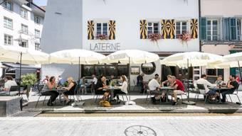 Die «Laterne» liegt an der Ecke Rathausgasse/Kronengasse.