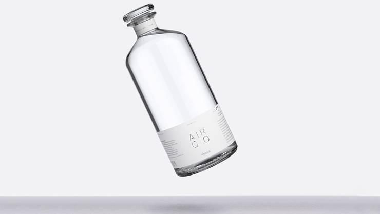 Der Wodka der Marke Air Co wird CO 2 -negativ produziert.