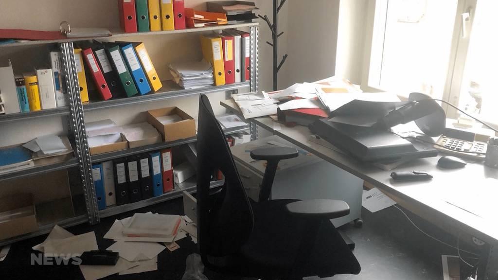 Unbekannte brechen in das Kantonale SP-Parteisekretariat ein