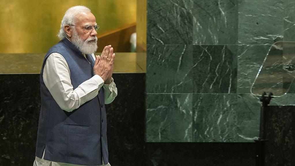 Indischer Premier Modi wird zu UN-Klimakonferenz COP26 erwartet