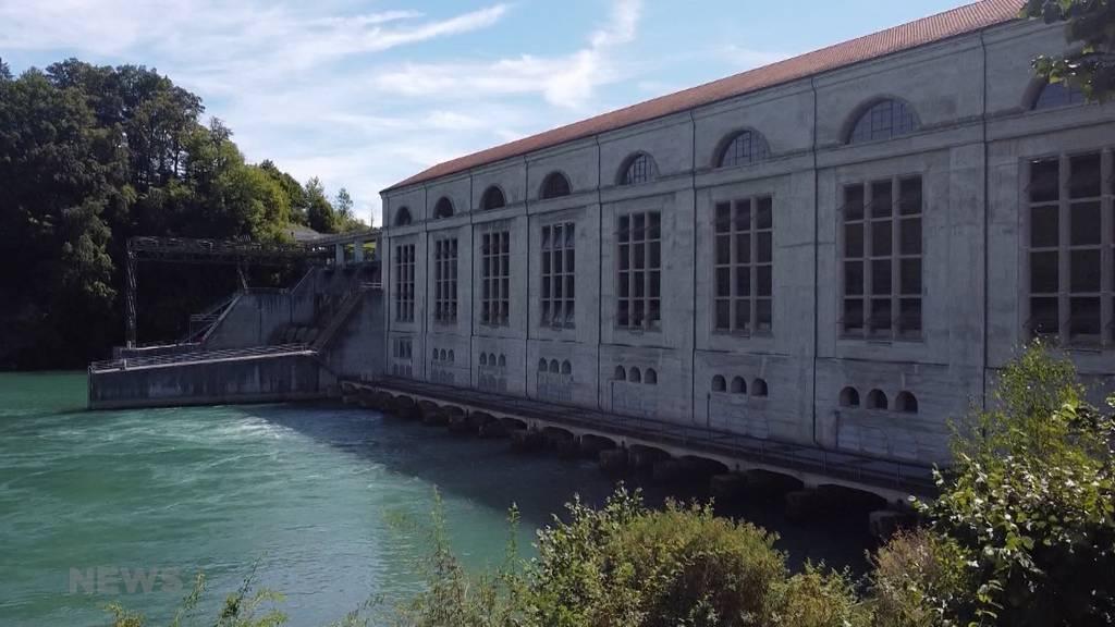 Das Wasserkraftwerk Mühleberg feiert ihr 100-jähriges Jubiläum