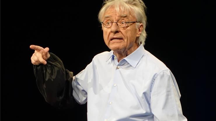 Ewig junger «Emil»: Auch mit 84 Jahren weiss Emil Steinberger das Publikum zu begeistern.