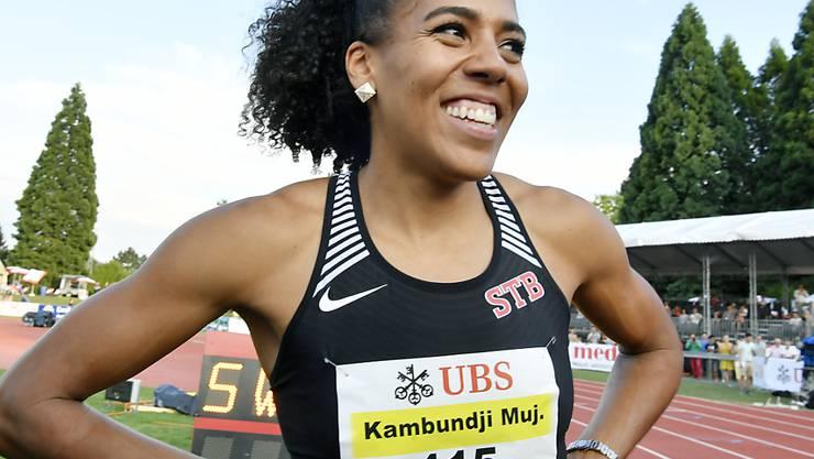 Mujinga Kambundji zählt zu den Schweizer Medaillenhoffnungen in Berlin