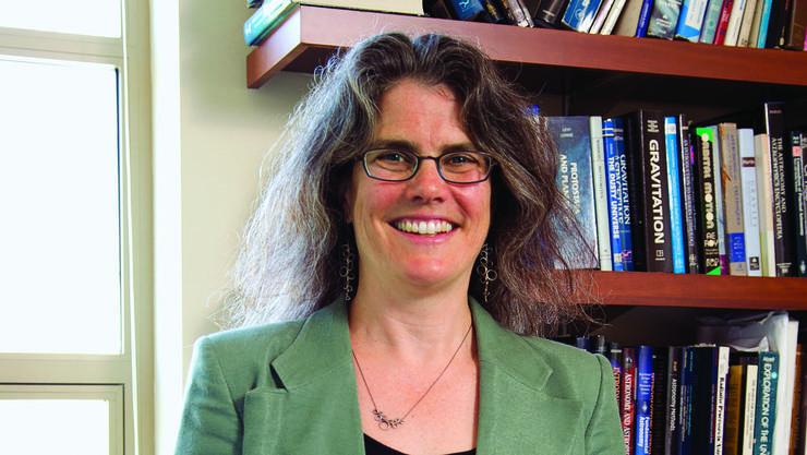 Die 55-jährige Andrea Ghez wird mit dem Nobelpreis geehrt.