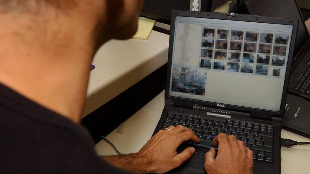 Im Kampf gegen Kinderpornografie ist den internationalen Behörden ein weiterer Schlag gelungen. In der Schweiz wurden 42 Personen verhaftet. (Symbolbild)