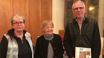 Die Autoren des neusten Werks und Referenten an der Buchvernissage: Kathrin Utz Tremp, Susi Ulrich-Bochsler und Peter Eggenberger.