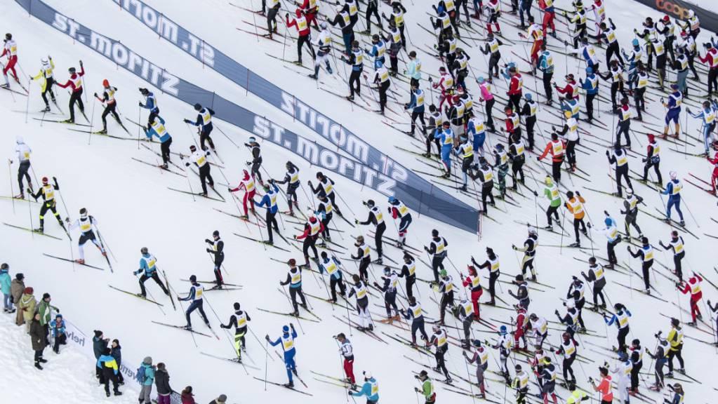Bis 2019 machten sich jahrein, jahraus tausende Langläufer auf den Weg, die 42 Kilometer von Maloja nach S-chanf zurückzulegen