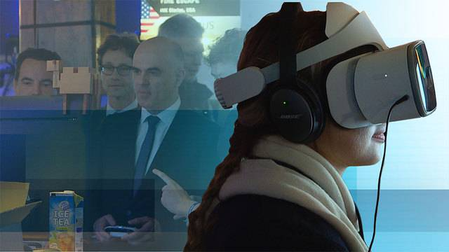 Alain Berset am Game Festival