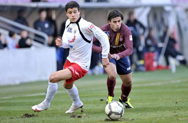 Loris Benito (l.) lancierte seine Profi-Karriere beim FC Aarau.
