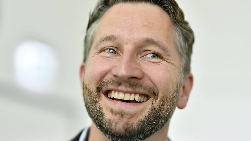 Lachender Sieger: Sozialdemokrat Kaspar Bopp (SP) gewinnt die Stadtratswahlen in Winterthur und verteidigt einen SP-Sitz in der Regierung.