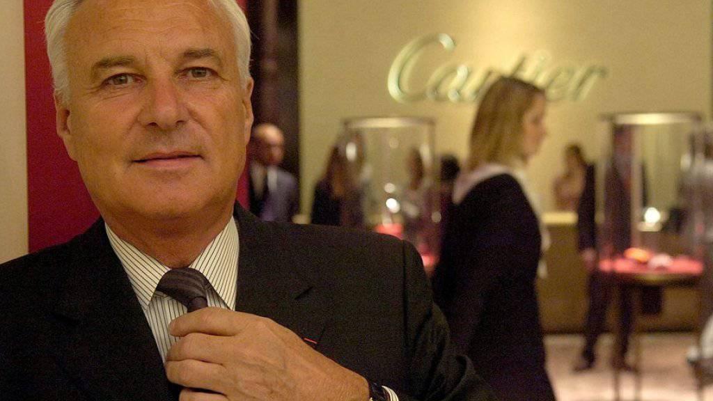 Bernard Fornas auf einem Bild von 2007, er war früher Chef des Uhren- und Schmuckerstellers Cartier. (Archiv)