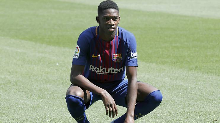 Ousmane Dembélé darf endlich im Trikot seines Lieblingsverein auflaufen