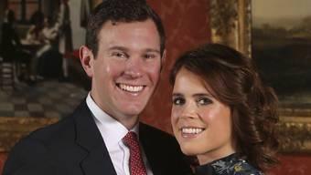Prinzessin  Eugenie und ihr Verlobter Jack Brooksbank haben das Datum ihrer Hochzeit bekannt gegeben: 12. Oktober 2018. (Archivbild 22.1.2018)