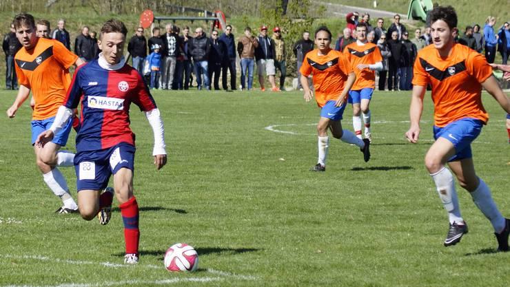 Der FC Birmensdorf in Aktion.