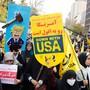 """Alle Jahre wieder: Protest gegen den """"Satan"""" vor der US-Botschaft in Teheran."""