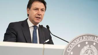 Der italienische Ministerpräsident Conte hält im Kampf gegen das Coronavirus eine europäische Koordination der Massnahmen im Gesundheits- und Wirtschaftssektor für notwendig.  (Archivbild)