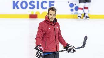 Der Trainer Patrick Fischer steht weiter für die Nationalmannschaft auf dem Eis.