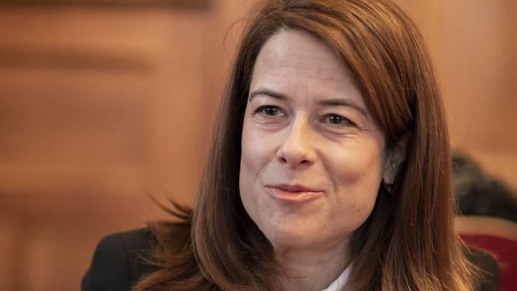 «Wir wollen endlich eine Vorwärtsstrategie»: FDP-Präsidentin Petra Gössi.