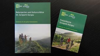 Der Jurapark Aargau bietet in der Region viele Aktivitäten an. Diese sind nun in einer neuen Karte aufgeführt.