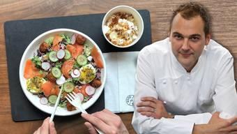 Kocht nicht nur fürs grosse Portemonnaie: Der Aargauer Spitzenkoch Daniel Humm eröffnete ein Take-Away-Restaurant, in dem er seine Gourmet-Gerichte zum kleinen Preis anbietet.