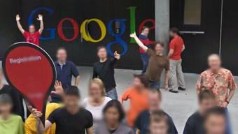 Das Hauptquartier von Google Schweiz in Streetview.