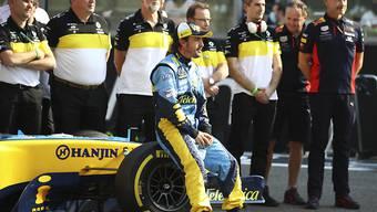 Fernando Alonso bereitet sich auf seine Rückkehr in die Formel 1 vor