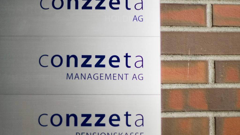 Conzzeta verzeichnet weniger Umsatz und weniger Aufträge