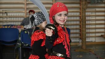 Kinderfasnacht 2018 in Arch: Piraten sind an der Archer Kinderfasnacht an Land gegangen.