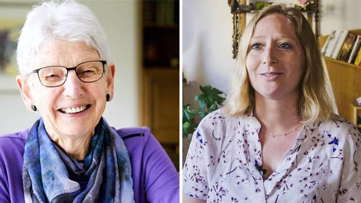 Verena Gloor-Schoch (links) und Fabienne Nöthinger sind Teil der zweiten Staffel von «Geboren am...».