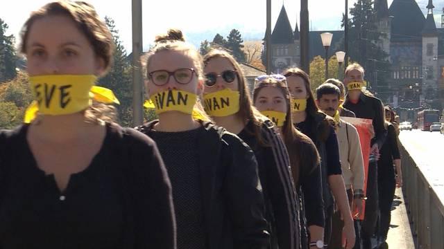 Walk of Freedom durch Bern