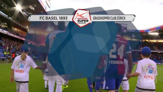 Super League, 2017/18, 4. Runde, FC Basel - GC Zürich, Alle Videohighlights
