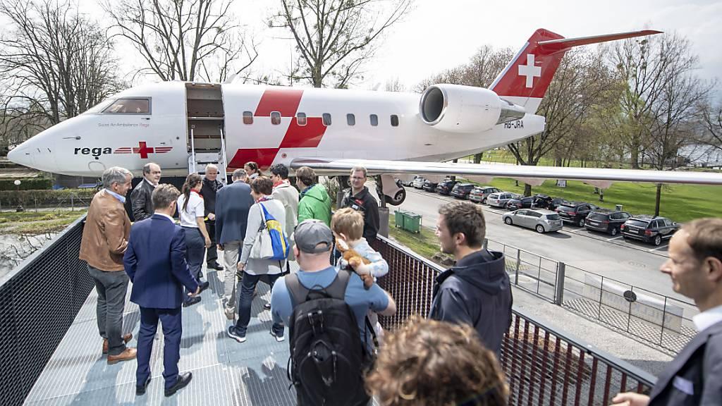 Rega repatriiert 50 Patienten
