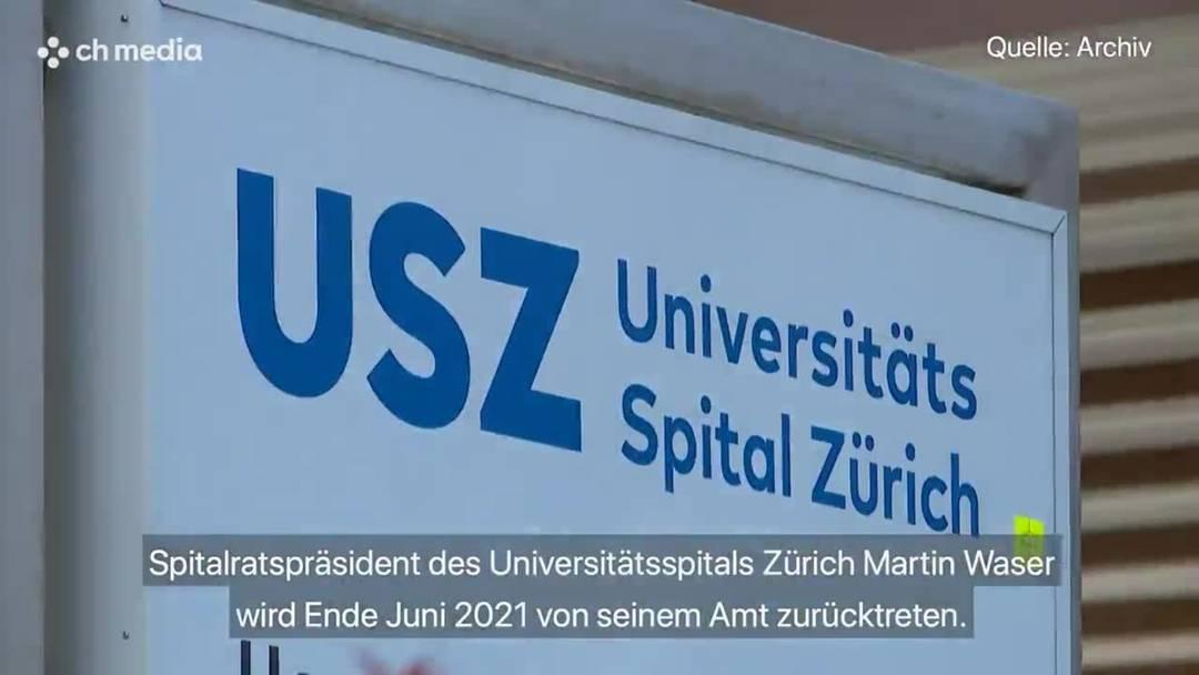 Unispital-Präsident Martin Waser kündigt Rücktritt an