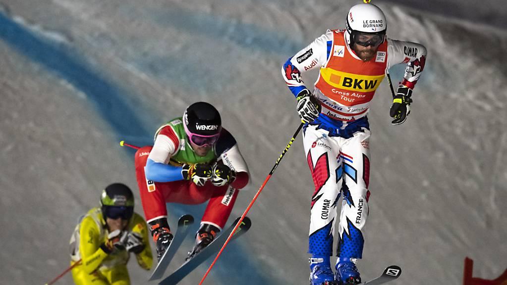 Ryan Regez ist beim Weltcup-Rennen im österreichischen Montafon nicht zu schlagen.