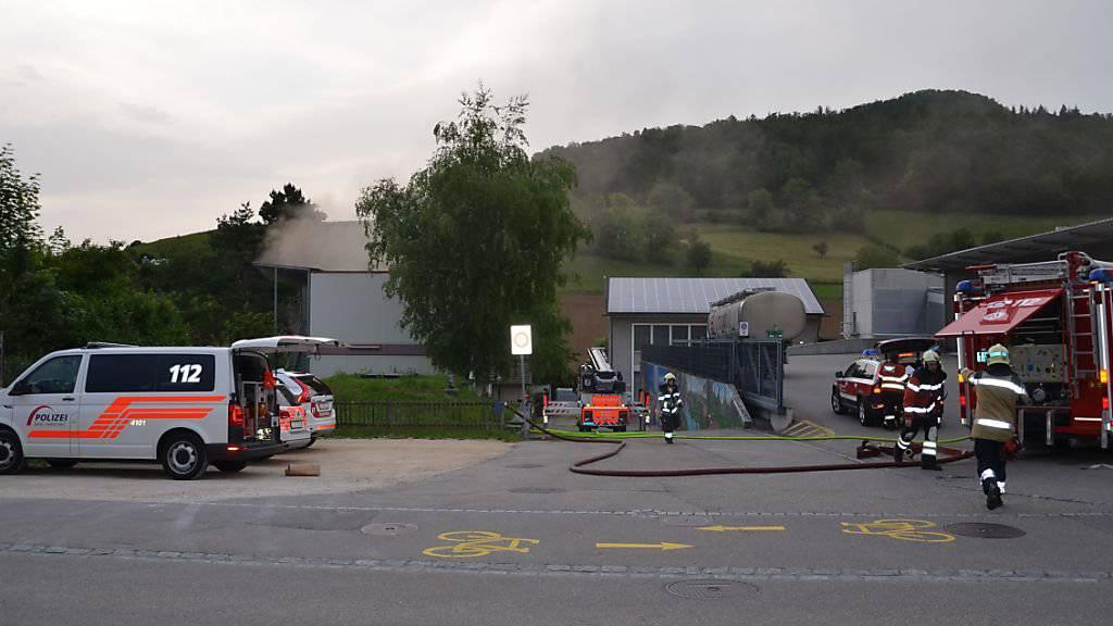 Drei Verletzte nach Brand in Asylunterkunft
