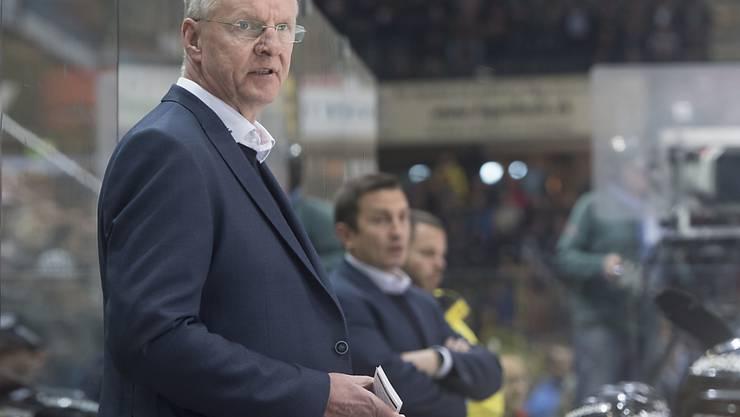 Kein erfolgreicher Abend in Tschechien: Berns finnischer Coach Kari Jalonen