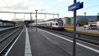 Soll nach der Inbetriebnahme der Eppenberglinie einen besseren Fahrplan erhalten: Der Bahnhof Dulliken.