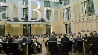 Hier steht und fällt das Steuerabkommen: Blick in den deutschen Bundesrat (Archiv)