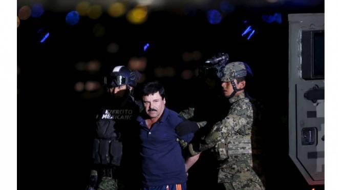 Nach seinem zweiten spektakulären Ausbruch brauchten die Fahnder nur noch sechs Monate, bis sie Guzmán, genannt «El Chapo», wieder festnehmen konnten. Foto: Edgard Garrido/Reuters