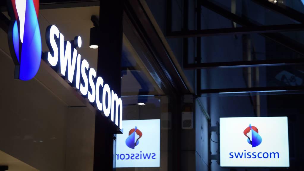 Die Swisscom kämpft am Freitagmorgen mit einer Störung im Internet.