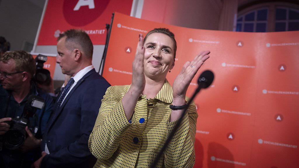 Dürfte die jüngste Premierministerin Dänemarks werden: die 41-jährige Sozialdemokratin Mette Frederiksen.