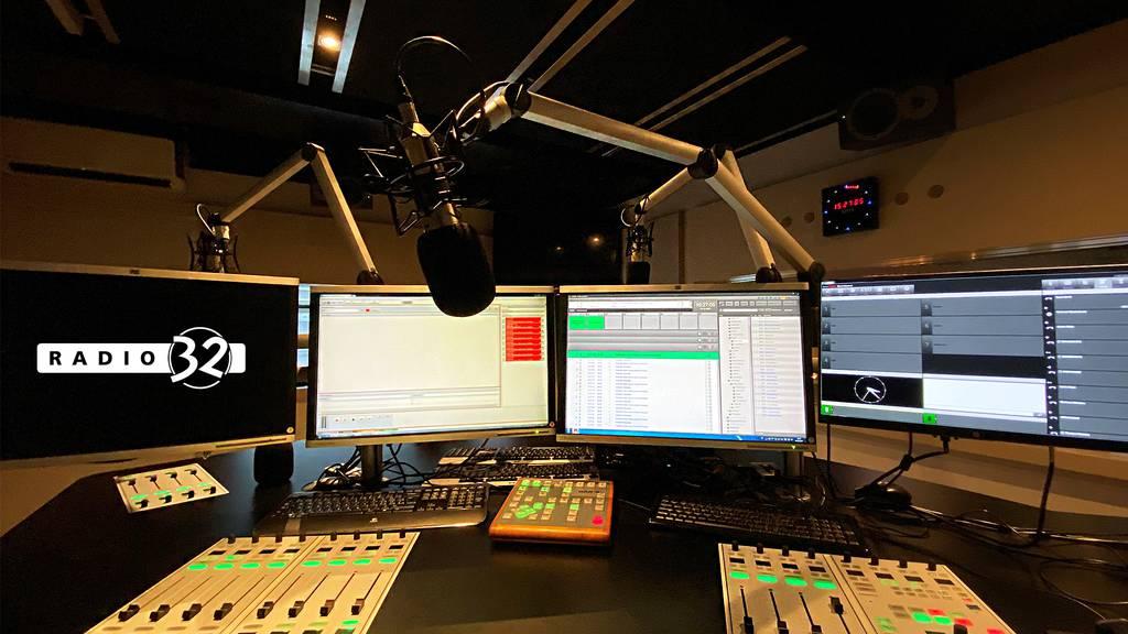 Radio 32 Livestream aus dem Studio