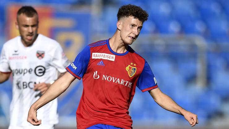 Der 20-jährige Yannick Marchand könnte auch heute gegen Sion wieder in der Innenverteidigung spielen.