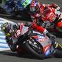 Der Berner Moto2-Fahrer Tom Lüthi unterwegs auf der Rennstrecke in Jerez de la Frontera
