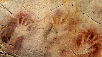 Neandertale-Kunst in einer Höhle in Spanien (Archiv)